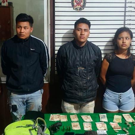 MUJER LIDERABA BANDA QUE ASALTÓ CASA DE EMPEÑOS EN MANANTAY