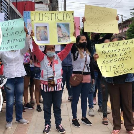 FAMILIARES DE AGRICULTORES ASESINADOS EN EL ABUJAO PIDEN QUE SE HAGA JUSTICIA
