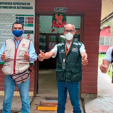 Sembrando Huellas y INIA promoverán acciones de sensibilización ecológica en Ucayali