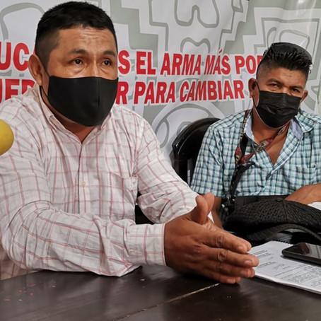 Docentes conforman Frente Patriótico Magisterial, en apoyo de Pedro Castillo
