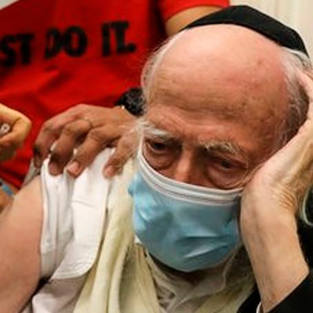 Nivel de contagio en adultos crece tras vacunarse pfizer en Israel
