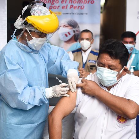 Ucayali inició último vacunación COVID-19