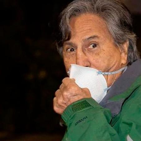 Alejandro Toledo vuelve a saltarse el arresto domiciliario en Estados Unidos