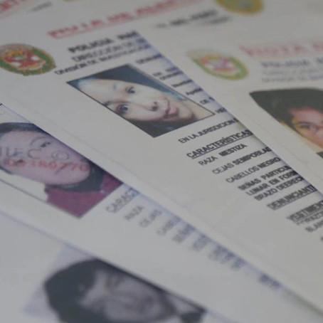 Defensoría del Pueblo reporta 472 mujeres desaparecidas en abril