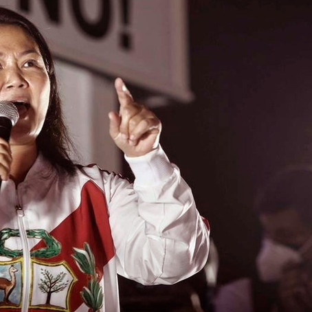 Keiko Fujimori:  Según The Washington Post, la candidata sigue el ejemplo de Donald Trump
