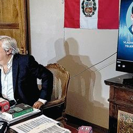 Fernando Olivera presenta audios que involucrarían a Montesinos y al presunto fraude electoral