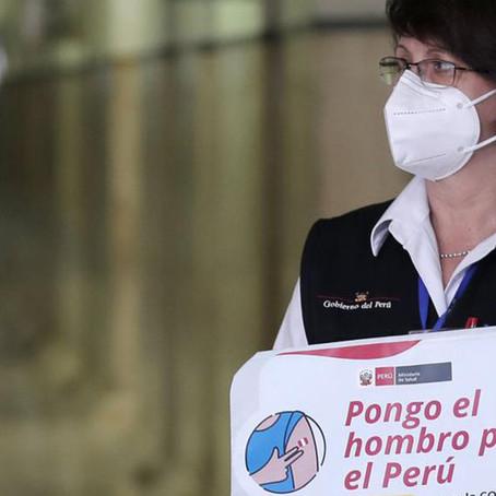"Sagasti : ""Pilar Mazzetti sí se vacunó contra la COVID-19"""