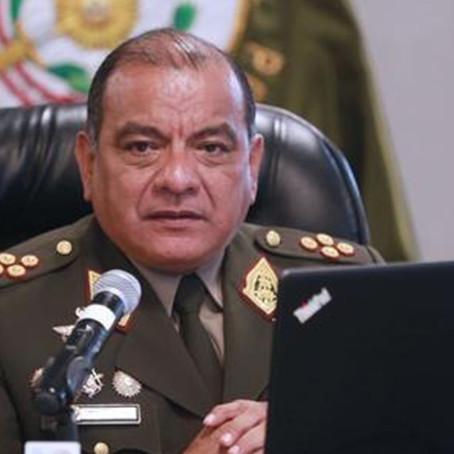 El general EP César Astudillo es investigado por el presunto delito de encubrimiento real en el caso