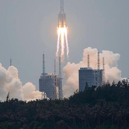 China es criticada por la NASA al no cumplir con protocolos responsables ante cohete descontrolado