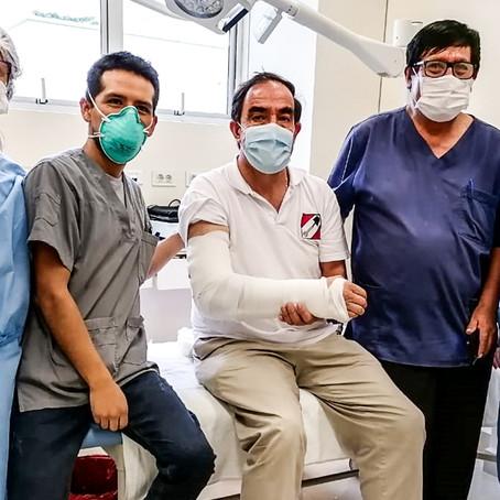 Yonhy Lescano cancela actividades de campaña en Ucayali y Loreto tras accidente en Tocache
