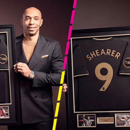 Premier League inaugura el Salón de la Fama con Henry y Shearer