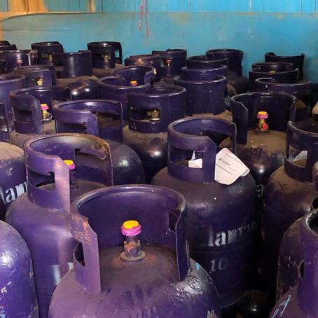 DIVINCRI RECUPERA 160 BALONES DE GAS ROBADOS A LLAMAGAS