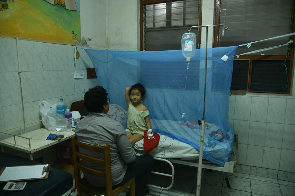45 Casos de dengue fueron en aumento..JP