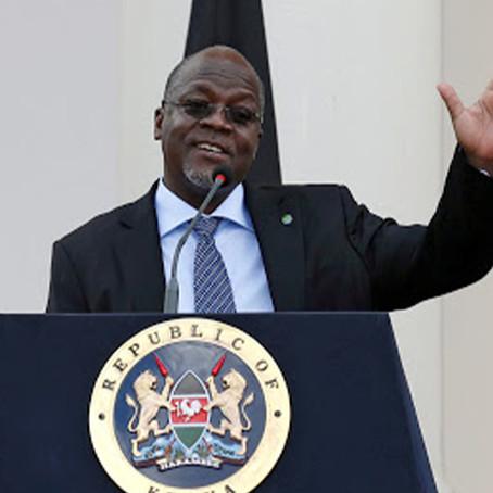 """Presidente de Tanzania pide a su población orar para vencer """"enfermedades respiratorias"""""""