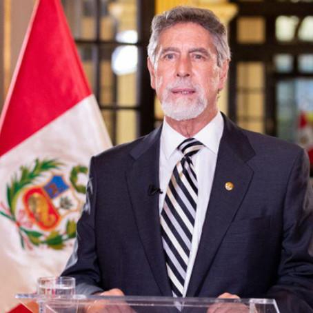 Francisco Sagasti oficializa nombre del año 2021 en el Perú