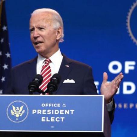 Joe Biden pretende borrar los errores de Donald Trump