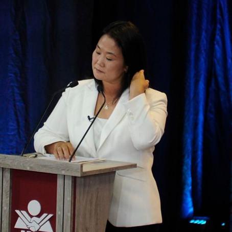 Keiko Fujimori: Presentan denuncia penal en contra de la candidata por presunta compra de votos