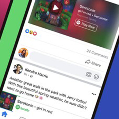 Spotify se alía con Facebook