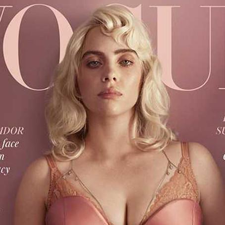 Billie Eilish se destapa para la portada de British Vogue
