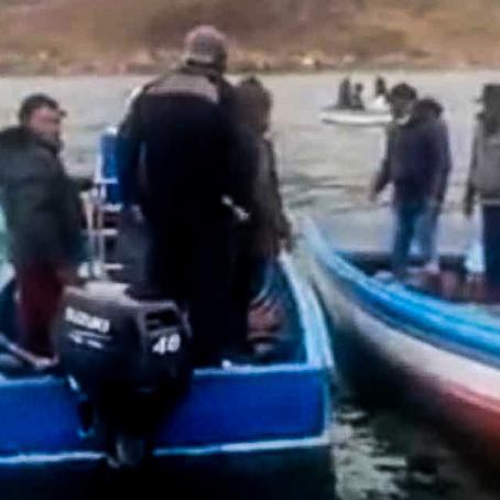 Dos jóvenes murieron ahogados en el Lago Titicaca