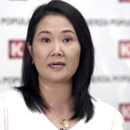 Keiko Fujimori tiene el mayor antivoto en todo el Perú
