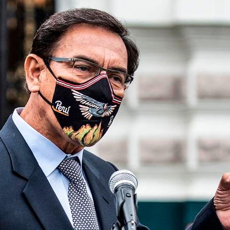 """Vizcarra : """"Las elecciones no pueden ser en abril"""""""