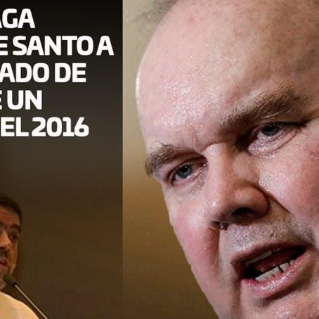 López Aliaga calificó de Santo a cura acusado de abusar de un menor en el 2016