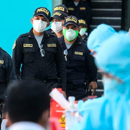 Más de 520 policías han muerto durante la pandemia por la COVID-19