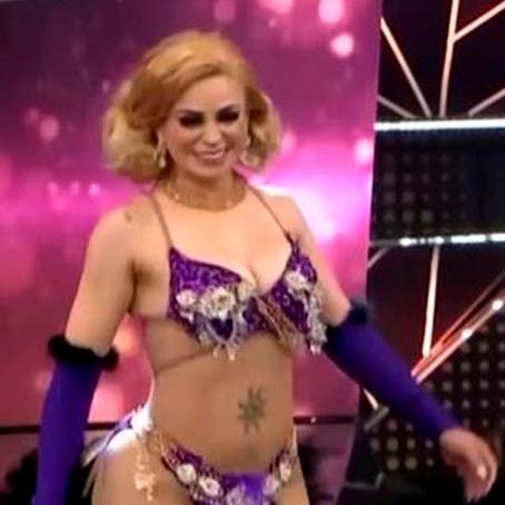 Reinas del Show: Leslie Moscoso sorprendió tras imitar a Gisela como vedette