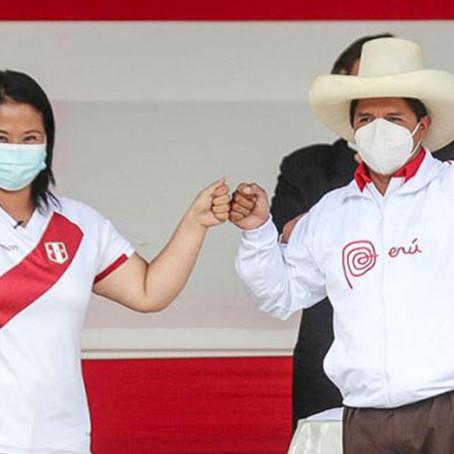 Equipo técnico de Castillo y Fujimori fueron presentados de cara al primer debate