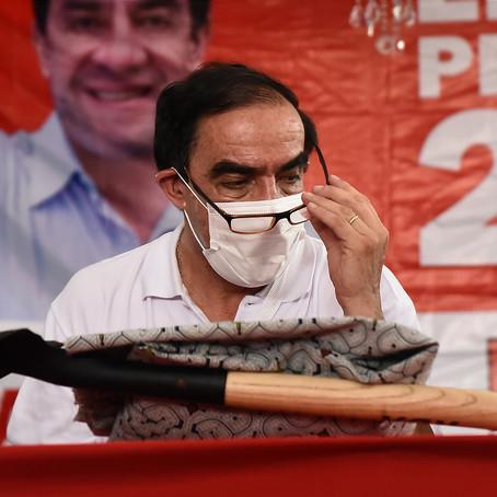 Yonhy Lescano promete solución a los aportantes de ONP si llega a Palacio