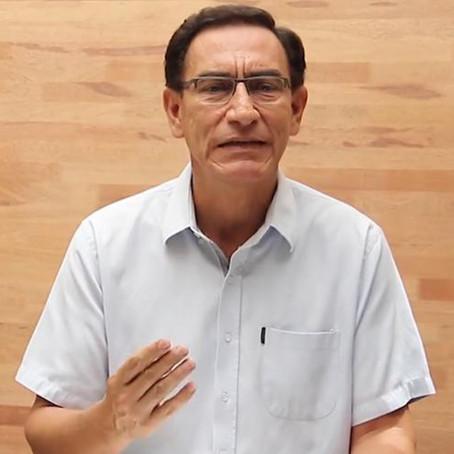 Comisión Permanente evaluará hoy informe de denuncia contra Vizcarra