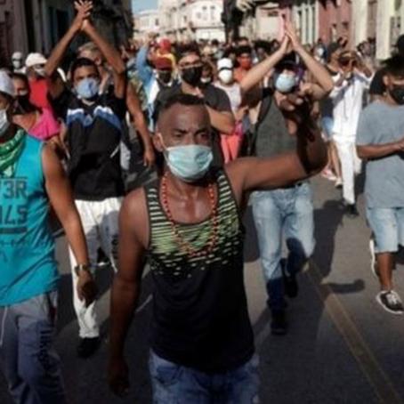 Cuba: Siguen las movilizaciones en contra del Gobierno de Díaz-Canel