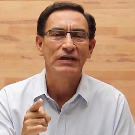 """Martín Vizcarra: """"Recién me entero de la existencia de otras 12 mil dosis de Sinopharm"""""""