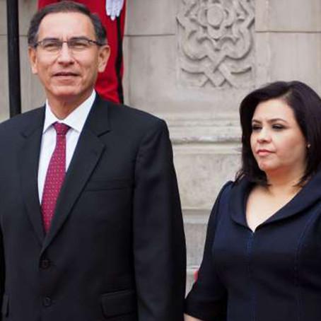 Martín Vizcarra y su esposa fueron vacunados contra la COVID-19 en setiembre del año pasado
