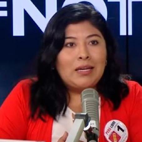 """Betssy Chávez: """"Despertamos pensando en qué va a hacer Keiko Fujimori por no aceptar los resultados"""""""