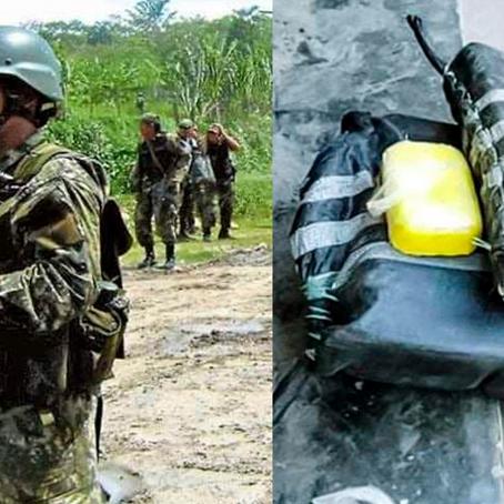 FUERZAS COMBINADAS INCAUTAN 250 KILOS DE DROGA EN SEPAHUA