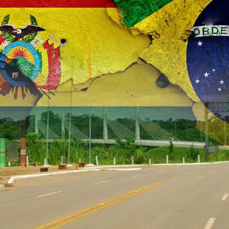 Bolivia decide cerrar la frontera con Brasil por 7 días