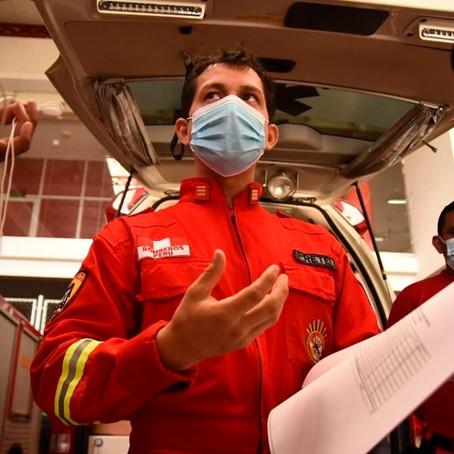 """Jefe de bomberos: """"Si el congresista quiere conocer la realidad, que nos visite"""""""