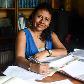 Karen Abregú, decana electa del CAU anuncia gestión transparente