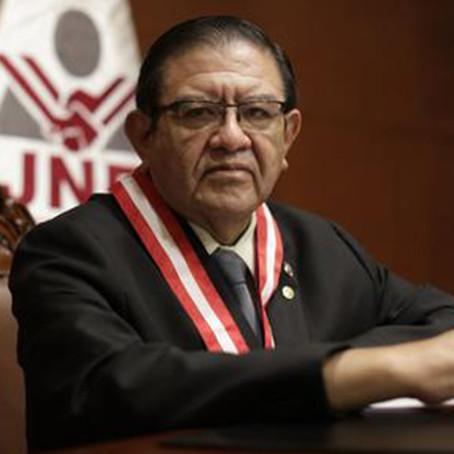 """ADML rechaza """"campaña de desprestigio"""" contra el presidente del JNE"""