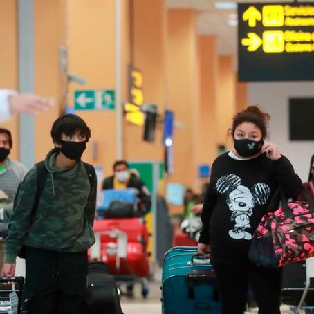 Se amplía suspensión de vuelos provenientes de Brasil, Reino Unido y Sudáfrica