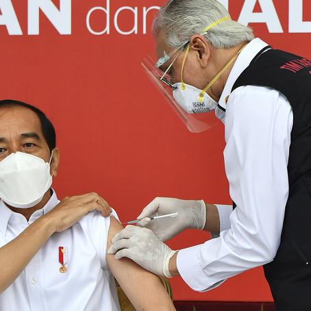 Indonesia vacunará a 5.000 periodistas contra la COVID-19