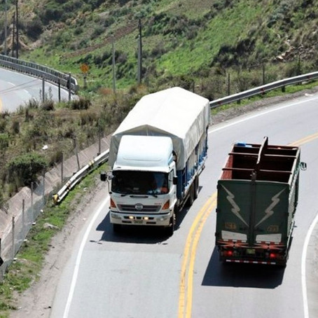 Accidentes en carreteras bajaron el 13 % durante el 2020