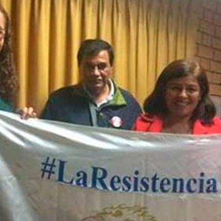 """Fuerza Popular: Grandes  criticas y rechazo a grupo """"La resistencia"""" por su violencia"""