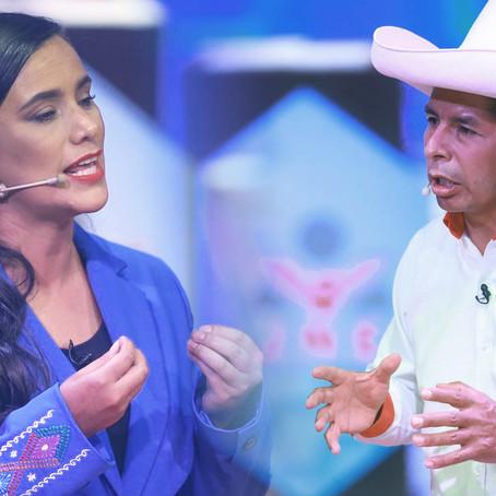 Nuevo Perú: Veronika Mendoza respalda a Pedro Castillo