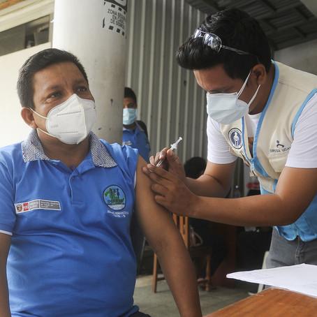 Héctor Cristóbal Nolasco y su equipo fueron vacunados