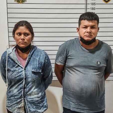 PAREJA ES DETENIDA CON 4 KILOS DE PASTA BÁSICA DE COCAÍNA