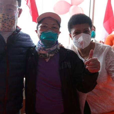 Keiko Fujimori: Susana Higuchi y Kenji Fujimori respaldan su candidatura