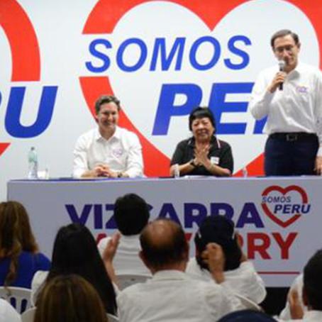Somos Perú pide inscribir lista al Congreso por Lima con Vizcarra